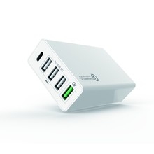 Popular multiple usb charger station with 5 port charging for mobile phone 20W