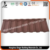 China Most Popular Stone Coated Metal Roofing Tile Factory
