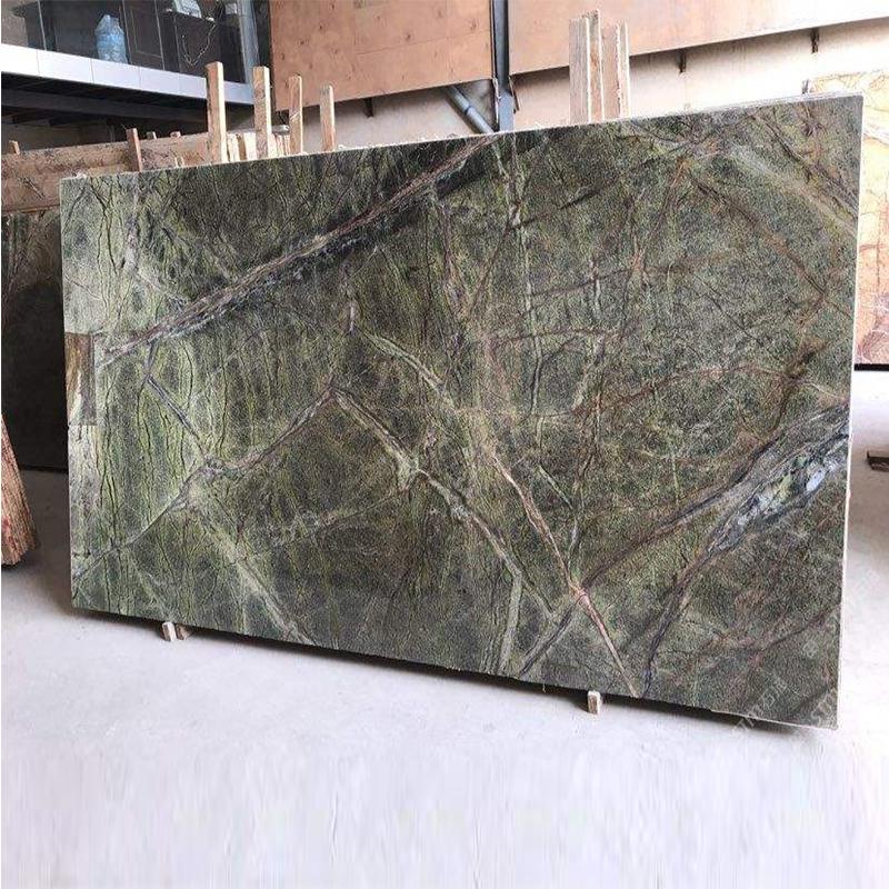 Rainforest Green Marble Slab, Rainforest Marble Slab, Rainforest Green