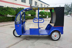 battery operated taxi three wheel car