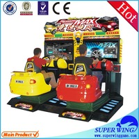 High quality luxurious appearance simulator arcade racing car game machine