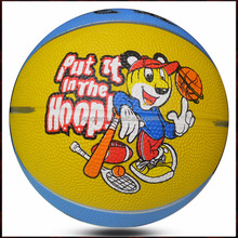 buy bulk colorful kids rubber promotional basketball size 3