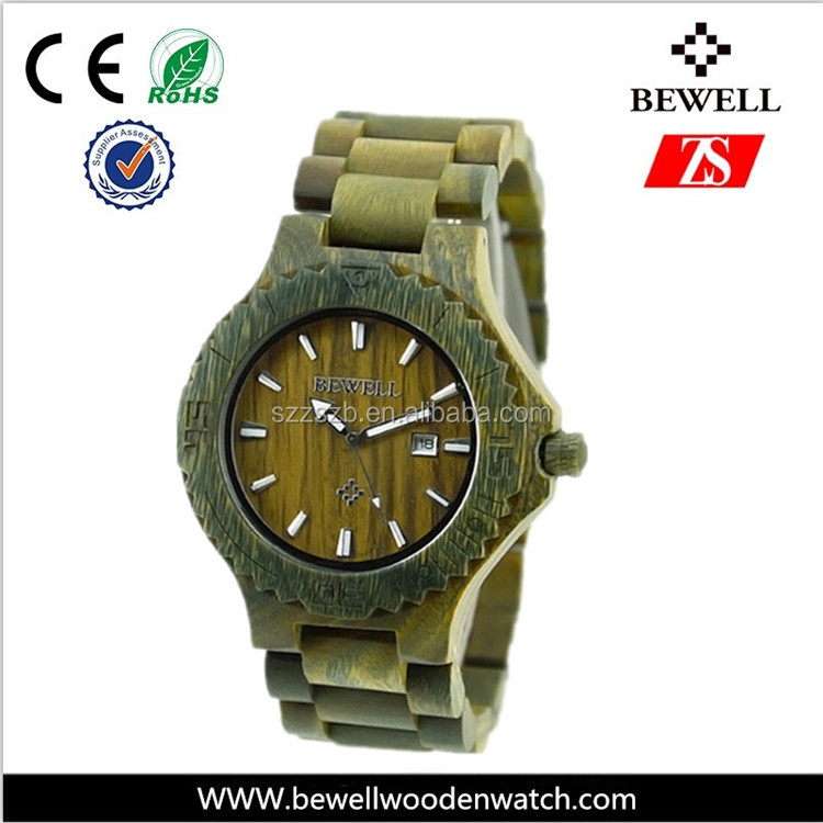 hot wood watch popular fashion wooden watch low moq and good price