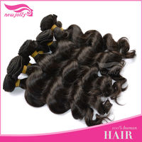 Big sale ! Grade AAAAA Luxury virgin remy hair weft hair serum black hair