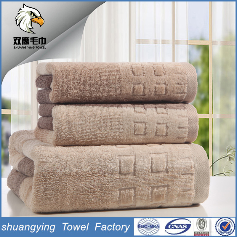 Manufacturers Wholesale High Grade Thicking Egyptian Cotton Hotel Towel Set
