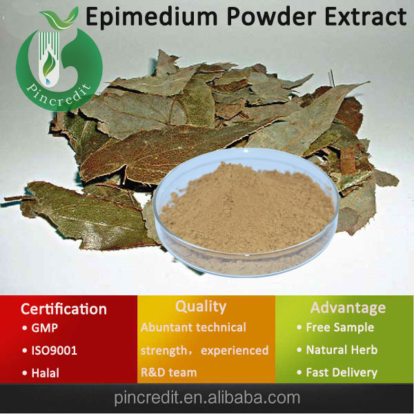 High Quality Icariin Epimedium Extract/High Quality Epimedium Sagittatum Extract/Epimedium Powder Extract