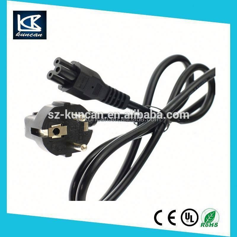 Schuko power cable, VDE approval extension cords and power cord with electric water-proof plug and socket