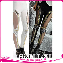 Wholesale Sequin Mesh Leggings for Women