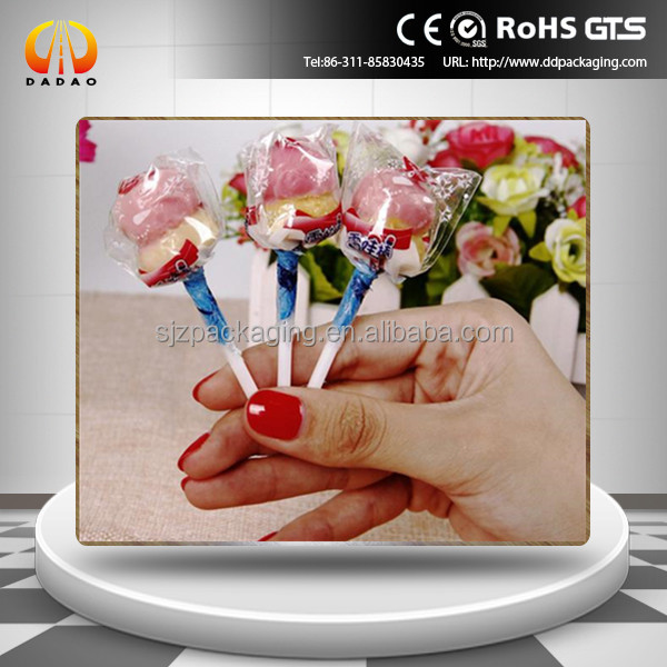China metalized / transparent lollipop candy twist film