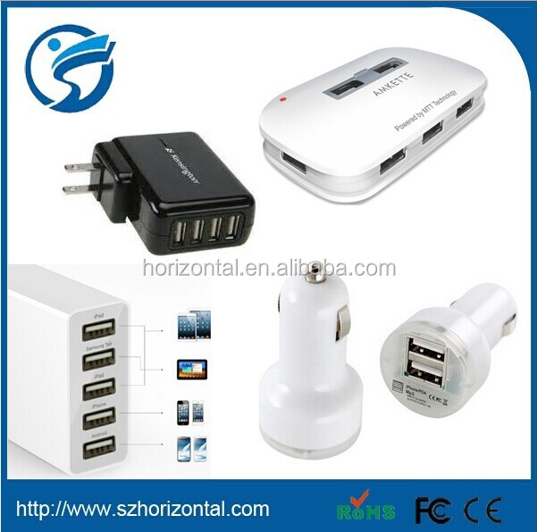 factory price 4 and 5 Port USB Charger 2014 hot sale item