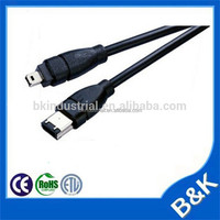 Good price Ultra Speed usb 2.0 male to ieee 1394 4 pin firewire cable from china supplier
