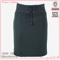 Woven garment ladies latest design high quality pleated polyester new styledesigner cheap womens skirts
