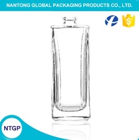 70ml long square transparent empty free perfume sample bottle / perfume sample bottle spray