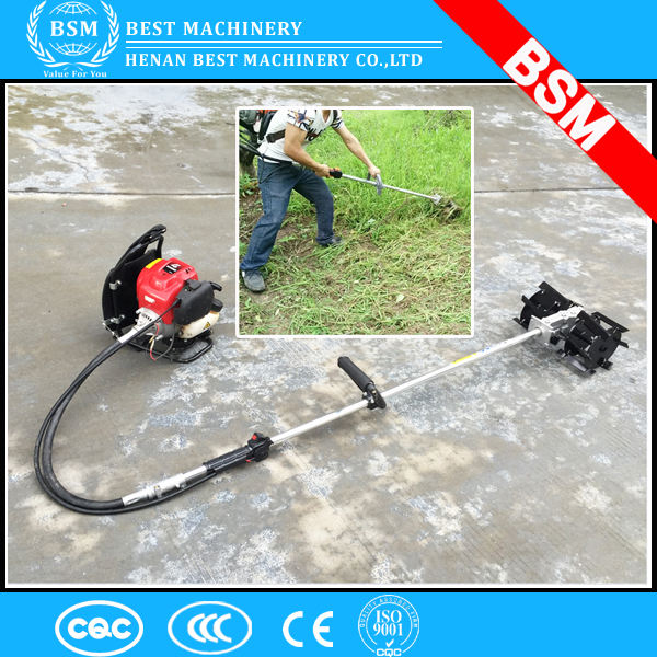 New type knapsack weeder with 2 stroke or 4 stroke engine