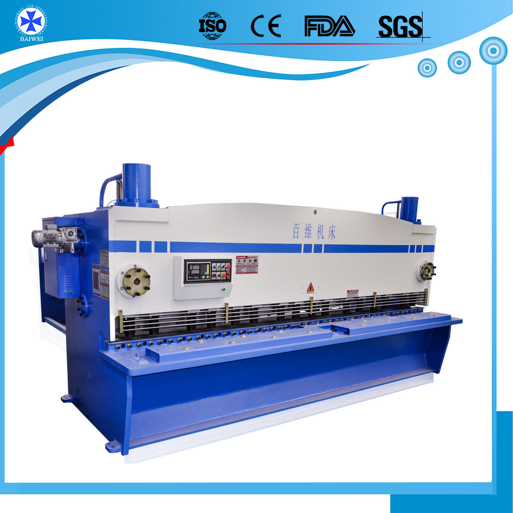 sheep Portable Hydraulic CNC shearing machine for sale used Steel Metal Cutting Off