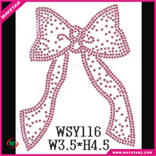 Hot Sale Online Pink Bow Symbol Heat Transfer Clothing