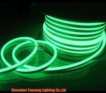 150' spool 12v 8.5x17mm mini green slim led neon flex Topsung