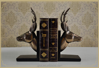 family stury room decortative resin deer head themed ornaments home decor