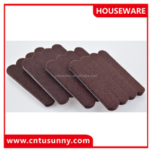 customized professional adhesive felt table leg pad furniture feet pads covers