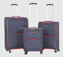 SPINNER WHEEL SUPPER LIGHT TRAVEL STYLE BAG LUGGAGE TROLLEY SET