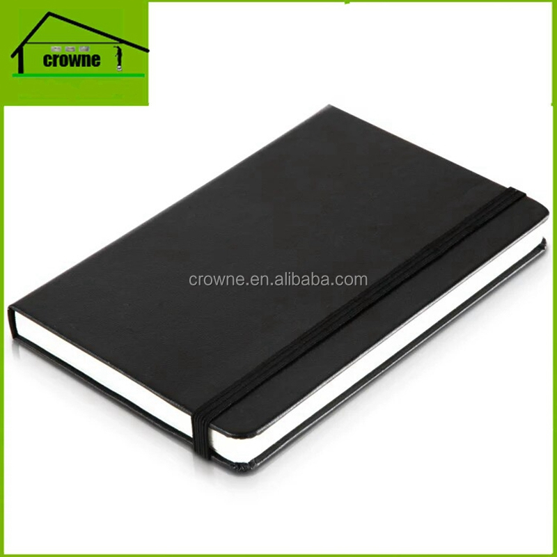 PU cover blank pages perfect binding planner