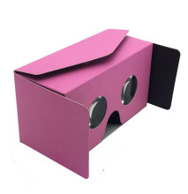 2017 latest unfold easy assemble google cardboard v2.0 google cardboard vr glasses