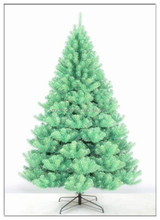 2015 Hot Selling High Quality PE/PVC EVERgreen tree with flock pine needles