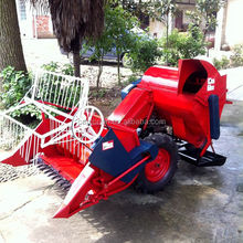 Diese engine or gasoline engine raspberry harvester and with Sideward in rows