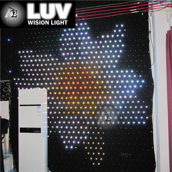 indoor stage led customize size large/small curtain display screen