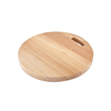 Round Bamboo Chopping Cutting Board for Kitchen