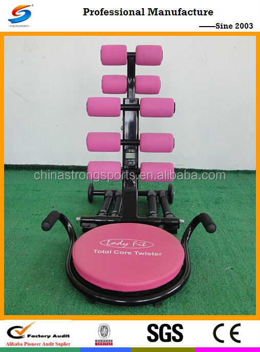 2017 Hot Sell Fitness Equipment and fitness machine/ New Design GYM Equipment for home exercise TC005