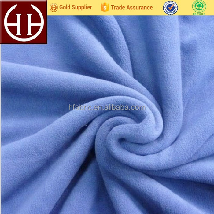 100 polyester anti pilling micro cheap polar fleece fabric