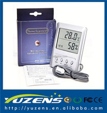 High Precision LCD Digital Indoor Outdoor WSB-2 Thermometer Hygrometer