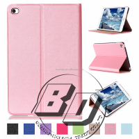 For ipad mini 4 Stand Flip PU Leather Wallet Tablet case For ipad mini 4 tablet case fast delivery