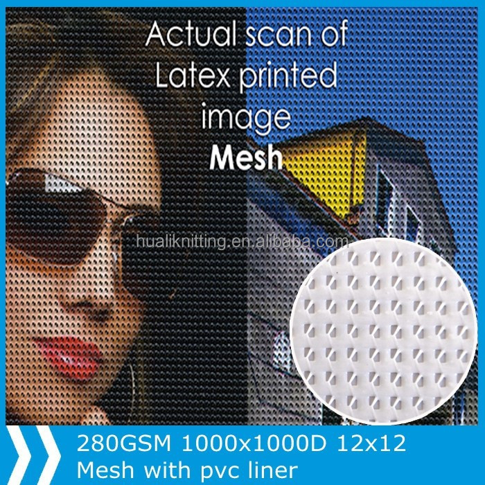 Coated mesh perforated fabric