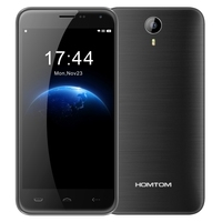 HOMTOM HT3 8GB Smart Phone, Network: 3G,5 inch Android 5.1 MTK6580A Quad Core 1.3GHz, RAM: 1GB Mobile Phone