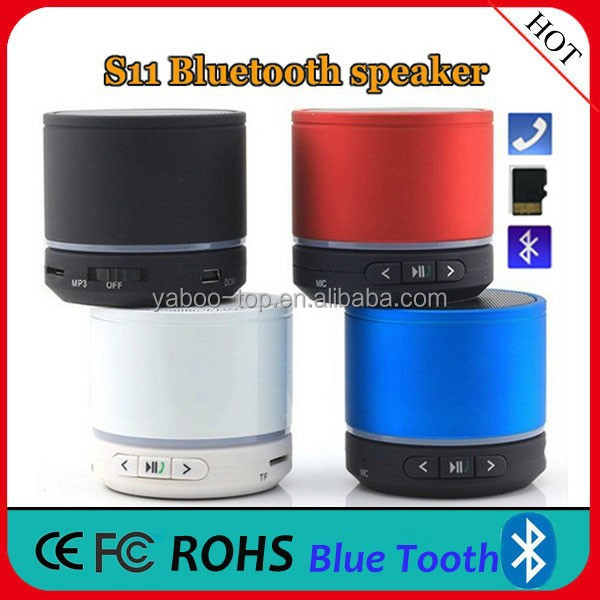 2017 Hot Sale Quality Sound Super Bass Mini Bluetooth Speaker S11