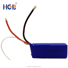 Composed battery 25C HGB202875 7.4V 1500mAh lithium-ion car battery 2S1P rechargeable rc/uav battery pack