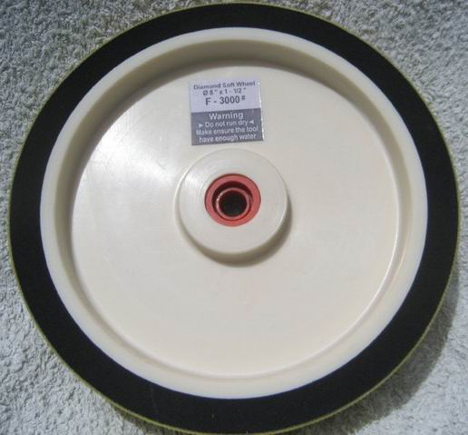 Soft Diamond Grinding Wheel for gemstone