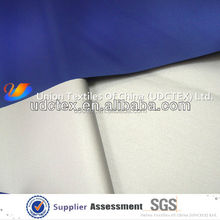 Top hot Taffeta fabric with silver coating