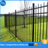 2015 Hot Sale Horizontal Slat Fence /Aluminum Fence Direct /Steel Fencing