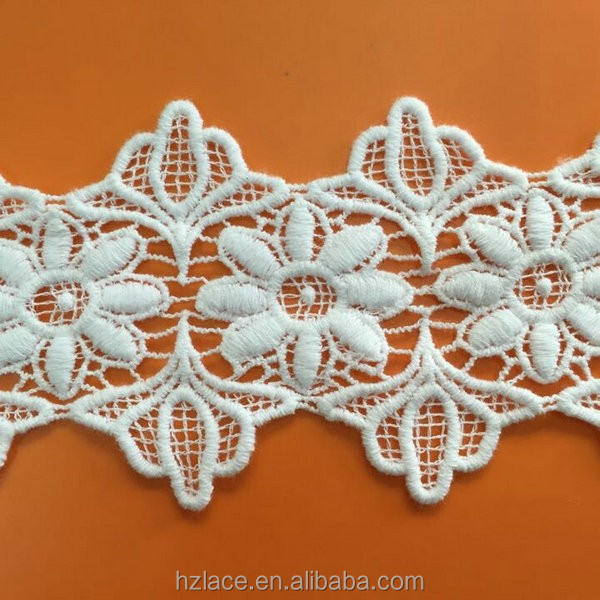 chemical cotton lace trim for garment <strong>accessory</strong>