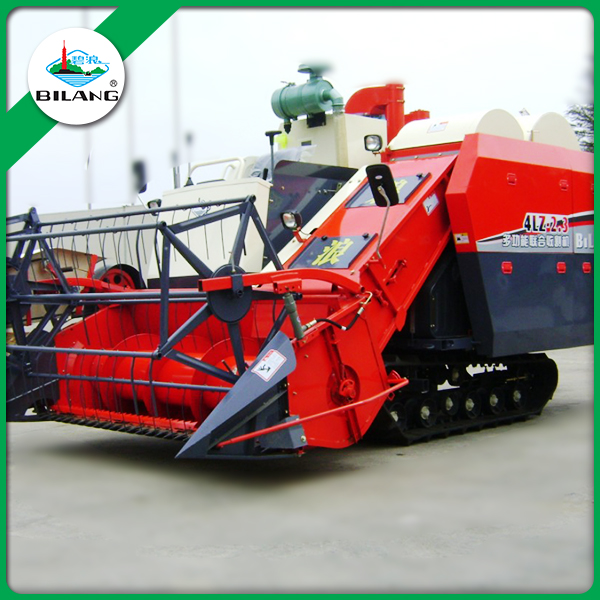 Rice farming equipment price of China combine harvester