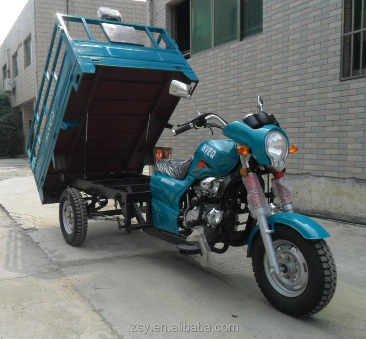 chinese three wheeler motorcycle three wheel motorcycle automatic 3 wheel motorcycle trailer (SY150ZH-B)