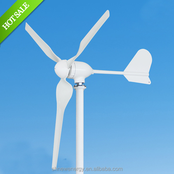 Chinese horizontal M3 Type 500W 24V or 48V wind turbine generator from china factory
