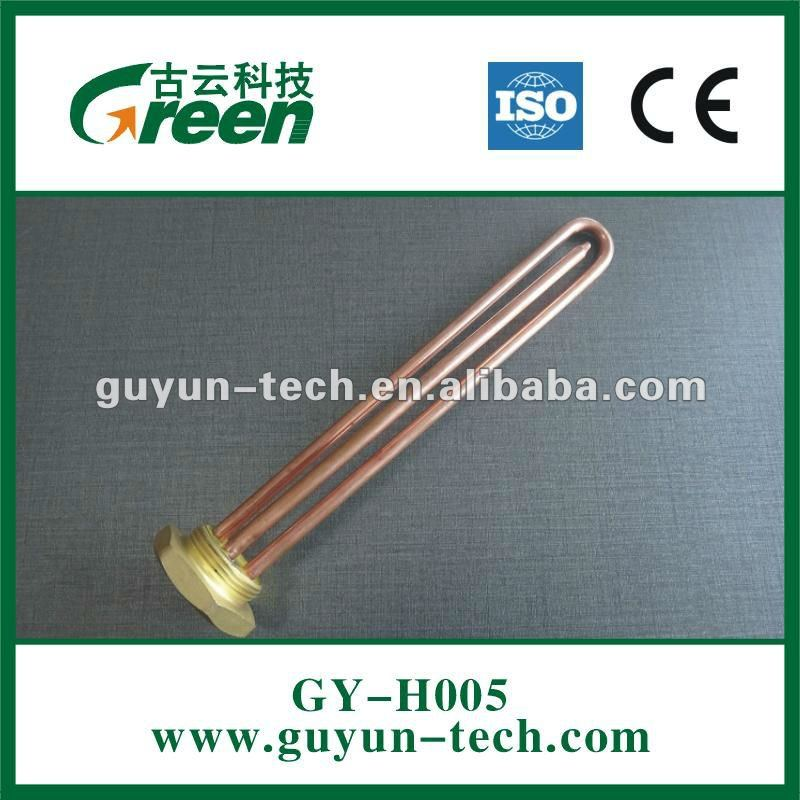 Straight Copper heating elements for water heater Trade assurance supplier