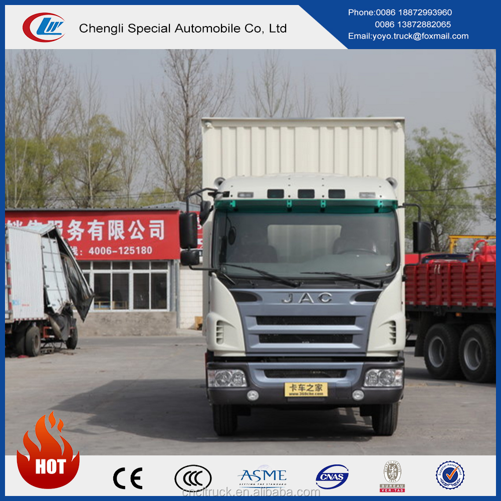 HFC JAC 15ton container cargo truck with low price