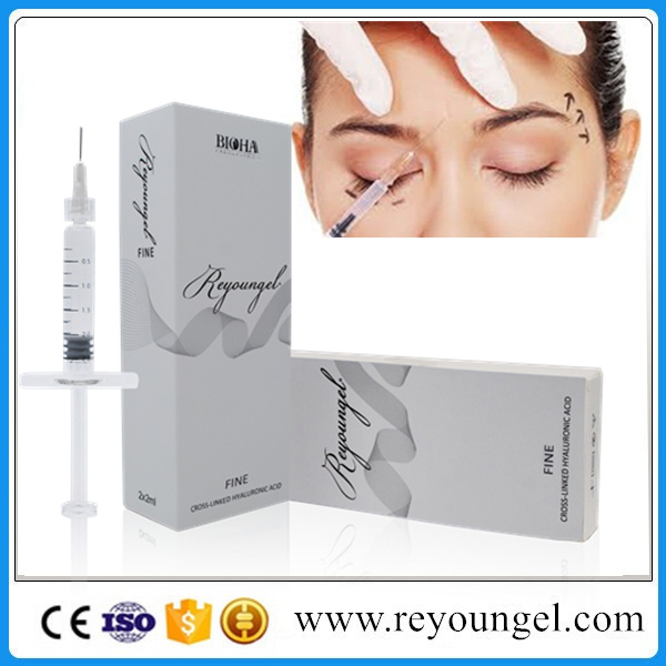 Injection Grade Cross Linked Hyaluronic Acid Dermal Filler