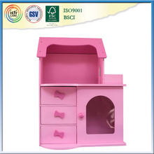 Latest toys for kids, with pink wall decoration for girl