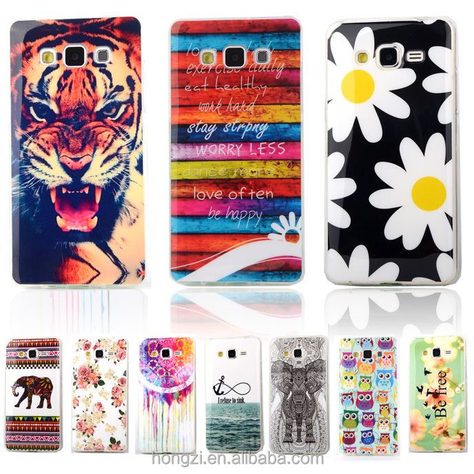 Fashion Owl Tower Flag TPU Silicone Soft Case For Samsung Galaxy A3 A3000 A5 Back Skin Cover Cell Phone Protect ShockProof Bag